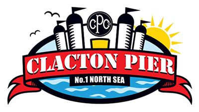 clacton pier UK logo