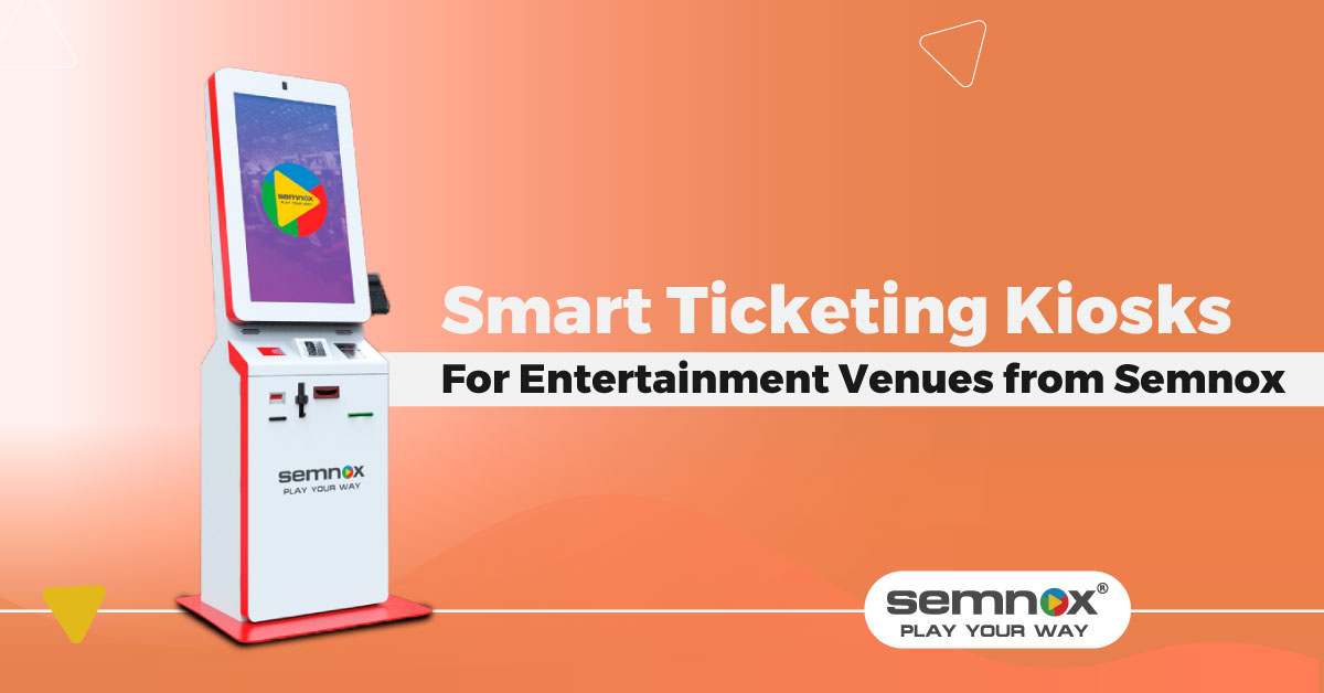 Ticketing Kiosks at Amusement Parks and Theme Parks Get Smarter With Semnox's Parafait