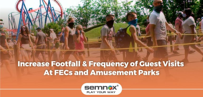 increase footfall frequency of guest visits