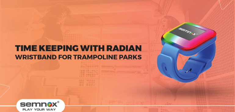 The RFID Wristband for Trampoline Parks