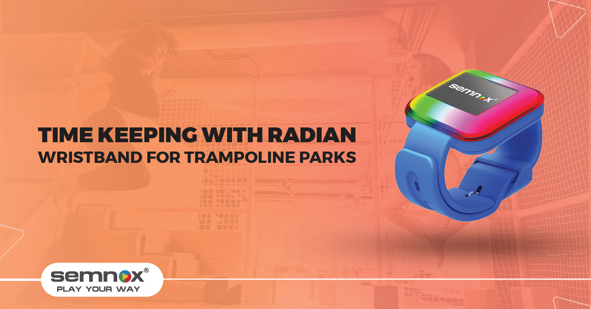 Time Keeping with Radian: The RFID Wristband for Trampoline Parks